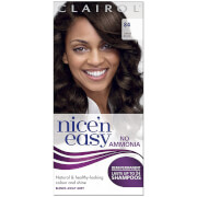 Clairol Nice'n Easy Semi-Permanent Hair Dye with No Ammonia (Various Shades) - 84 Darkest Brown фото