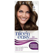 Clairol Nice'n Easy Semi-Permanent Hair Dye with No Ammonia (Various Shades) - 75 Light Ash Brown фото