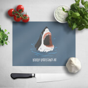 Sharks Nobody Understands Me Chopping Board