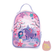 Loungefly Disney Mulan & Friends Canvas-Faced Mini Backpack - VeryNeko Exclusive