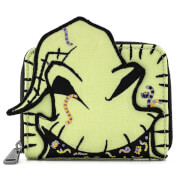 Loungefly Disney The Nightmare Before Christmas Oogie Boogie Creepy Crawlies Zip Around Wallet