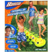 Banzai Caterpillar Garden Sprinkler Water Toy