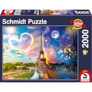 Paris: Day and Night Puzzle (2000 Pieces)