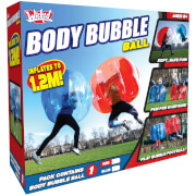 Wicked Vision Body Bubble Ball - Large Inflatable Outdoor Game - Blue