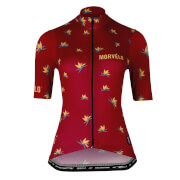 Morvelo Flock Womens Standard Short Sleeve Jerseys - Xl