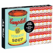 Andy Warhol Soup Can 2 Sided 500 Piece Puzzle