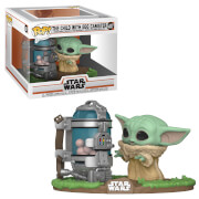 Star Wars The Mandalorian Deluxe Child & Canister Pop! Deluxe