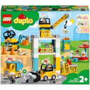 LEGO DUPLO Tower Crane & Construction Vehicle Toys (10933)