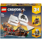 LEGO Creator: 3in1 Pirate Ship Toy Set (31109)