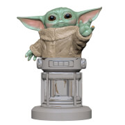 Figurine Cable Guys Support Chargeur Manette et Smartphone Star Wars Mandalorian L'Enfant