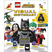 DK Books LEGO DC Super Heroes Visual Dictionary Hardback