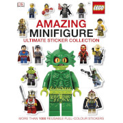 DK Books LEGO Amazing Minifigure Ultimate Sticker Collection Paperback
