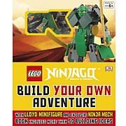 DK Books LEGO NINJAGO Build Your Own Adventure Hardback