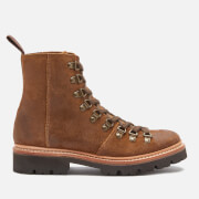 Grenson Women's Nanette Suede Hiking Style Boots - Snuff - UK 3