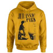 Jurassic Park Isla Nublar Punk Hoodie - Mustard