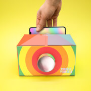 Luckies of London Project Yourself Rainbow Lo-Fi Phone Projector