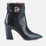 Coach Women's Teri Leather Heeled Boots - Black - UK 3