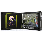 The Nightmare Before Christmas Jack Skellington, Sally and Zero Exclusive Collector's Action Figures Set