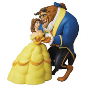 Medicom Disney Beauty & The Beast Belle & Beast Figure
