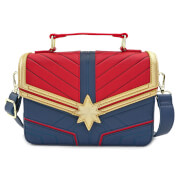 Loungefly Captain Marvel Faux Leather Cross Body