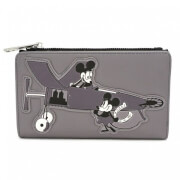 Loungefly Disney Mickey Mouse Faux Leather Flap Purse