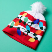 WotNot Creations Light Up Knitted Christmas Hat