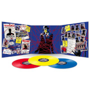 Dirk Gently's Holistic Detective Agency (140g Hollistic Red, Yellow and Blue Vinyl)