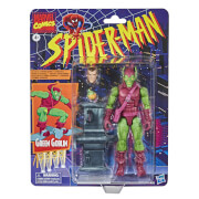 Hasbro Marvel Legends Retro Collection Spider-Man Green Goblin 6-Inch Scale Action Figure