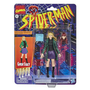 Hasbro Marvel Legends Retro Collection Spider-Man Gwen Stacey 6-Inch Scale Action Figure