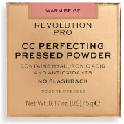 Revolution Pro CC Perfecting Pressed Powder (Various Shades) - Warm Beige  - Купить