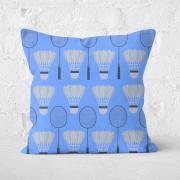 Badminton Square Cushion   40x40cm   Soft Touch