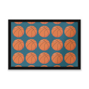 Basketball Entrance Mat