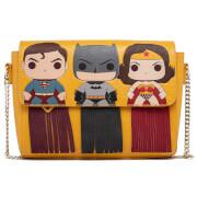 Loungefly DC Comics Pop Fringe Capes Crossbody Bag