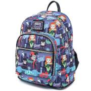 Loungefly Dc Comics Ladies Of Dc Aop Mini Backpack