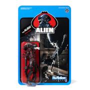 Super7 Alien ReAction Figure - Bloody Alien Open Mouth (Blue Card) Action Figure