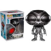DC Comics Aquaman Black Manta Brushed Steel EXC Pop! Vinyl Figure