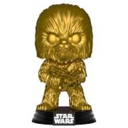 Star Wars Chewbacca Gold Metallic EXC Pop! Vinyl Figure