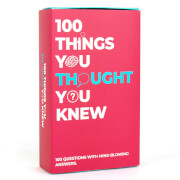 100 Things You Thought You Knew Trivia Cards