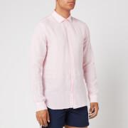 Orlebar Brown Men's Giles Linen Shirt - Pale Pink - XL