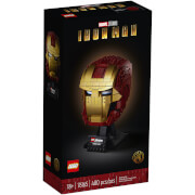 LEGO Marvel Avengers Iron Man Helmet Set for Adults (76165)