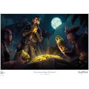 Sea of Thieves Limited Edition Art Print - Gold Hoarders