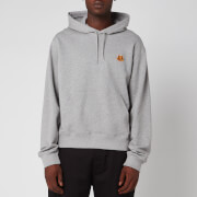 KENZO Men's Tiger Crest Hoodie - Pearl Grey - XL