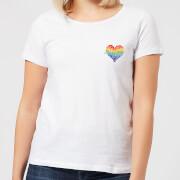 Miss Greedy Love Has No Gender Women's T-Shirt - White