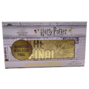 Harry Potter 24K Gold Plated Quidditch World Cup Ticket Limited Edition Replica - Zavvi Exclusive