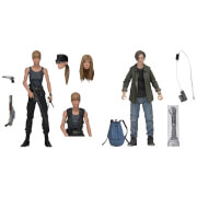 NECA Terminator 2 Sarah Connor and John Connor 2 Pack 7 Inch Scale Action Figures