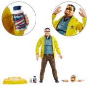 Mattel Jurassic Park Dennis Nedry 6 Inch Scale Amber Collection Action Figure