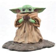 Star Wars The Mandalorian L'Enfant (Bébé Yoda) 'Soupe Pose' Échelle 1/2 Premier Collection Statue - Édition Limitée