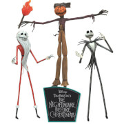 Diamond Select Nightmare Before Christmas Jobs of Jack Skellington Action Figure Box Set