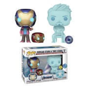 Marvel Morgan & Hologram Tony Stark mit Helm 2 Pack EXCL PIAB