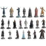 Lot de 22 Figurines Games of Thrones - Ed. collector Deluxe Eaglemoss (Set 1)